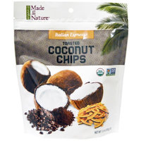 Made in Nature, Organic Toasted Coconut Chips, Italian Espresso, 3.0 oz (pack of 12)