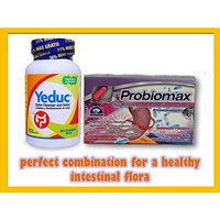 Natutech,wellness Kit Yeduc and Probiomax Colon Cleanser and Detox Prevents Constipation Regenerates the Intestinal Flora