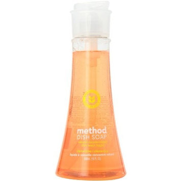 Method Dish Soap, Clementine, 18 Ounce (Pack 6)