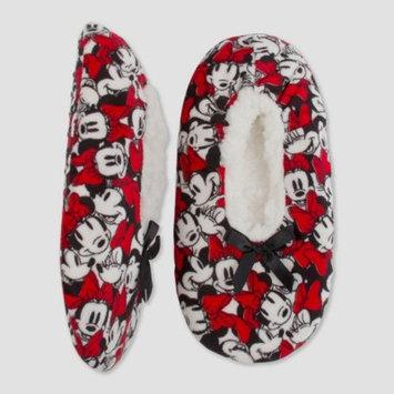 Women's Minnie Mouse Slipper Socks