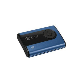 GPX 2GB Flash MP3 Player (MW240BU) - Blue