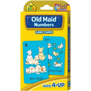 School Zone Publishing SZP05015 Old Maid Game Cards