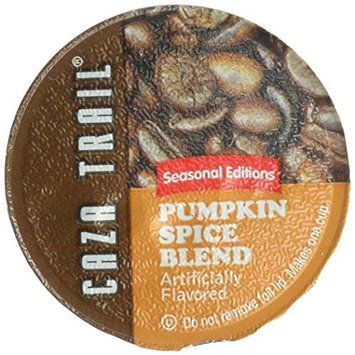 Caza Trail Coffee, Pumpkin Spice, 24 Single Serve Cups [Pumpkin Spice]