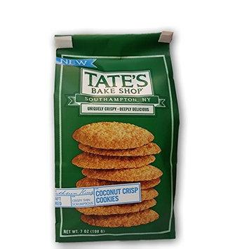 TATES BAKE SHOP Coconut Crisp CookieS, 7 Ounce