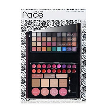 The Color Workshop Make My Face Complete Color Compact, 67 Count