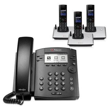Polycom 2200-46161-025 6-line Entry-Level Business Media Phone with Gigabit Ethernet