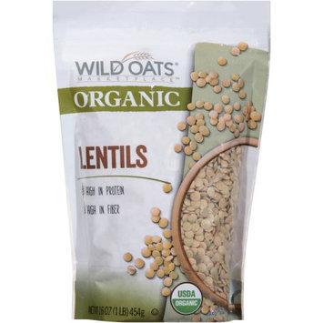Wild Oats Marketplace Organic Lentils, 16 oz