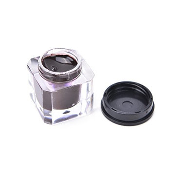 1 Pcs Tattoo Ink,Square Bottles Pigment Professional Permanent Makeup Tattoo Ink Supply For Eyebrow Lip Make up,Dark Coffee by Team-Management