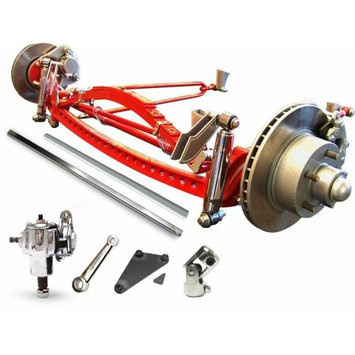 Vintage Parts USA VPAIBKFB2CRHD RHD 1932 Ford Super Deluxe Hair Pin Drilled Solid Axle Kit dirt apu spyder