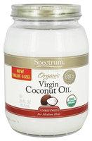 Spectrum Essentials - Organic Virgin Coconut Oil - 29 oz(pack of 3)