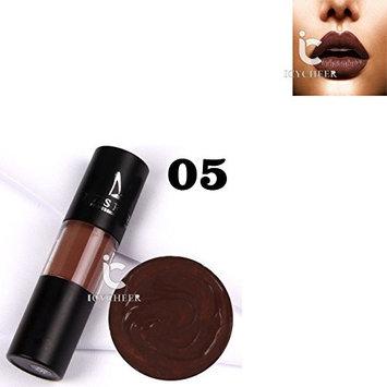 ICYCHEER 12Colors Lips Matte Moisturizing Lipstick Makeup Lip Gloss Liquid Waterproof Lips