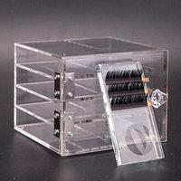 Eyelash Storage Box 8-layer Eyelash Display Board Tool Beauty Grafting Eyelash Acrylic Storage Case