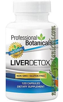 Professional Botanicals Naturally Botanicals Liver Detox - 120 Caps