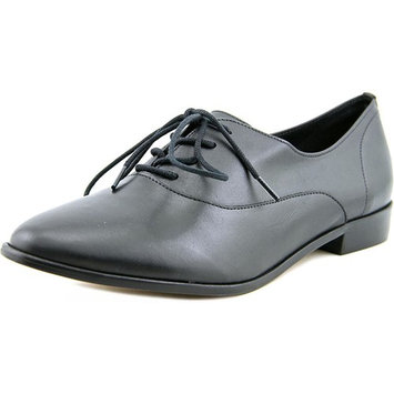Lust for Life Nico Women Round Toe Leather Black Oxford