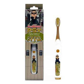 Atb PSY Tooth Brush Buddies Singing Gangnam Style Manual Toothbrush Music Kids Gift