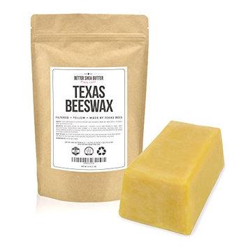 Texas Beeswax by Better Shea Butter - 1 lb block