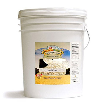 Saratoga Farms Instant Rice ValueBUCKET (1/2 cup servings size/186 Total Servings)