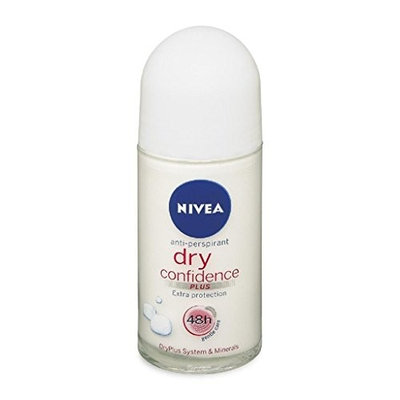(Pack of 12 Bottles) Nivea PEARL & BEAUTY Women's Roll-On Antiperspirant & Deodorant. 48-Hour Protection Against Underarm Wetness. (Pack of 12 Bottles, 1.7oz / 50ml Each Bottle) : Beauty