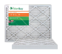 AFB Bronze MERV 6 24x25x1 Pleated AC Furnace Air Filter. Filters. 100% produced in the USA. (Pack of 4)