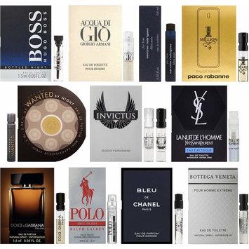 Men's Designer Fragrance Sampler - Lot of 11 Mini Cologne Sample Vials