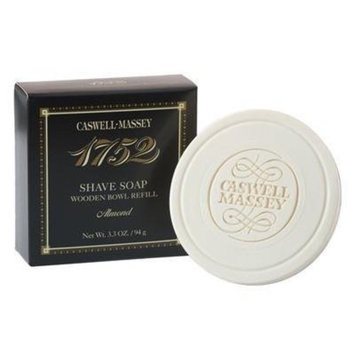 Caswell-Massey Almond Shave Soap Refill, 3.3 Ounce [Almond]