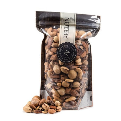 The Nuttery Ny The Nuttery Roasted and salted Mixed Nuts - 16 ounce Pouch Bags (1lb)