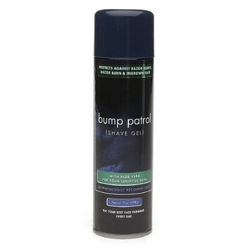 Bump Patrol Dermatologist Recommended Shave Gel with Aloe Vera For Sensitive Skin (7 oz)