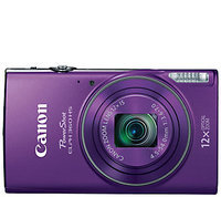 Canon - Powershot Elph350 20.2-megapixel Digital Camera - Silver
