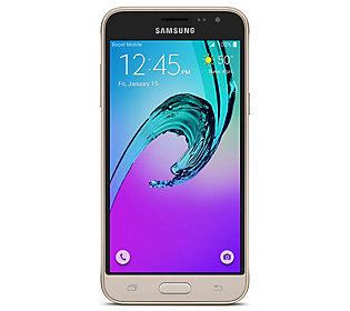 Samsung - Galaxy J3 Cell Phone - Gold