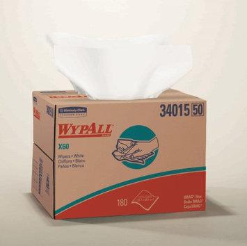 Wypall X60 WypAll* X60 Light Duty HYDROKNIT* White Reusable Dry Task Wipe, 12? X 16.8'