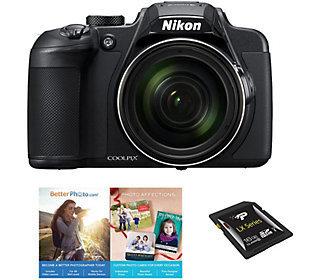 Nikon - Coolpix B700 20.2-megapixel Digital Camera - Black