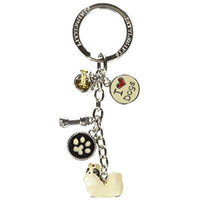 Little Gifts Shih Tzu Enamel Key Chain