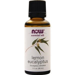 Lemon Eucalyptus Essential Oil Now Foods 1 fl oz Oil