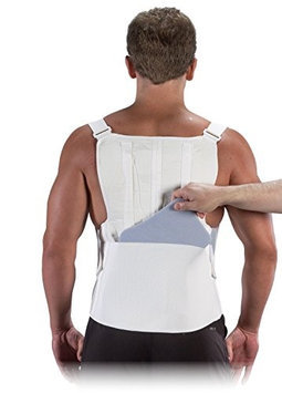Bilt-Rite Mastex Health 10-10900-3X TLSO Deluxe Support White - 3 Extra Large