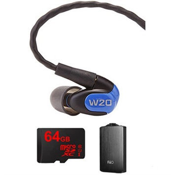 Westone W20 Dual Driver Noise Isolating Earphones In-Ear Monitors - 78502 w/ FiiO A3 Amp