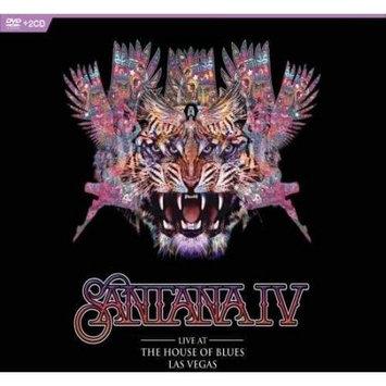 Uni Dist Corp music Santana IV-Live At The House Of Blues Vegas DVD