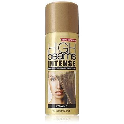 high beams Intense Temporary Spray on Hair Color, Gold, 2.7 Ounce by High Beams