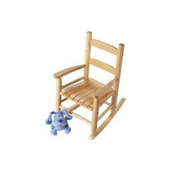 Lipper International 555 Child's Rocking Chair, 14.5