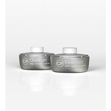 CleanPath Premium Multi-Surface Cleaner - Two Replacement Refill Pods (Concentrate Makes 12 Bottles or 168oz) Bee Spring Luxury Fragrance Collection