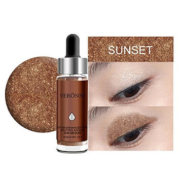 Fenleo Face Glow Liquid Highlighter Waterproof Contour Concealer Make Up Glitter Brighten Shimmer Highlighters Makeup 6 Colors Available