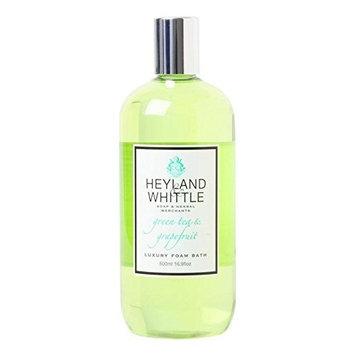 Heyland & Whittle Greentea & Grapefruit Foam Bath 500ml (PACK OF 6)