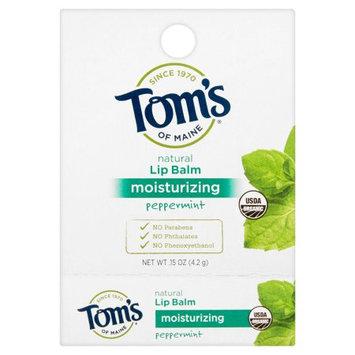 Tom's of Maine Moisturizing Peppermint Lip Balm