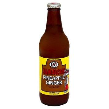 D&G Jamaican Pineapple Ginger Soda, 12 fl oz