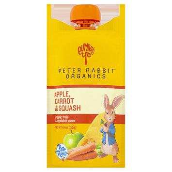 Pumpkin Tree Peter Rabbit Organics Apple, Carrot and Squash Snack, 4.4 oz, 10 pack