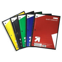 Quad Notebooks, Wide Rule, 80pgs - up & up™