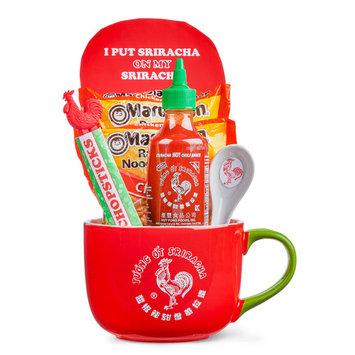 Sriracha Noodle Mug Christmas Gift, 6 Pieces