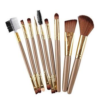 Super Soft,SMTSMT 2017 9pcs Makeup Cosmetic Brushes Eyeshadow Eye Shadow Foundation Blending Brush (G