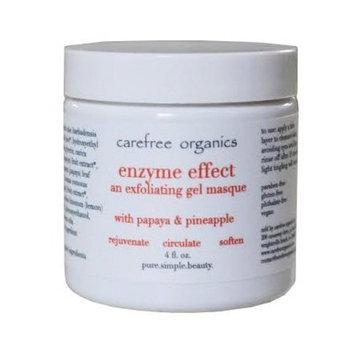 Carefree Organics Enzyme Effect, an organic gel peel masque with fruit enzymes, 4 fl oz