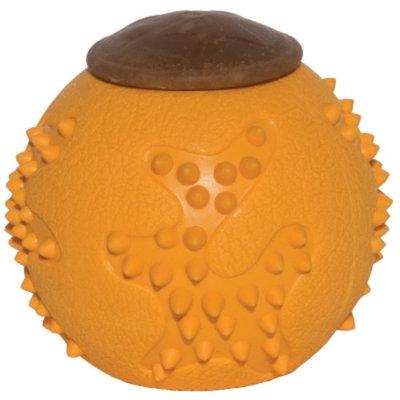 Starmark RubberTuff Treat Ball Dog Toy, Small