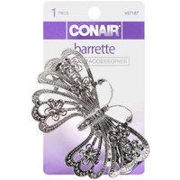 Sophisticates Barrette, Silver Butterfly, 1 barrette - CONAIR CORPORATION